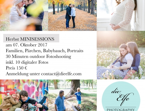 Herbst Minisessions am 07. Oktober 2017